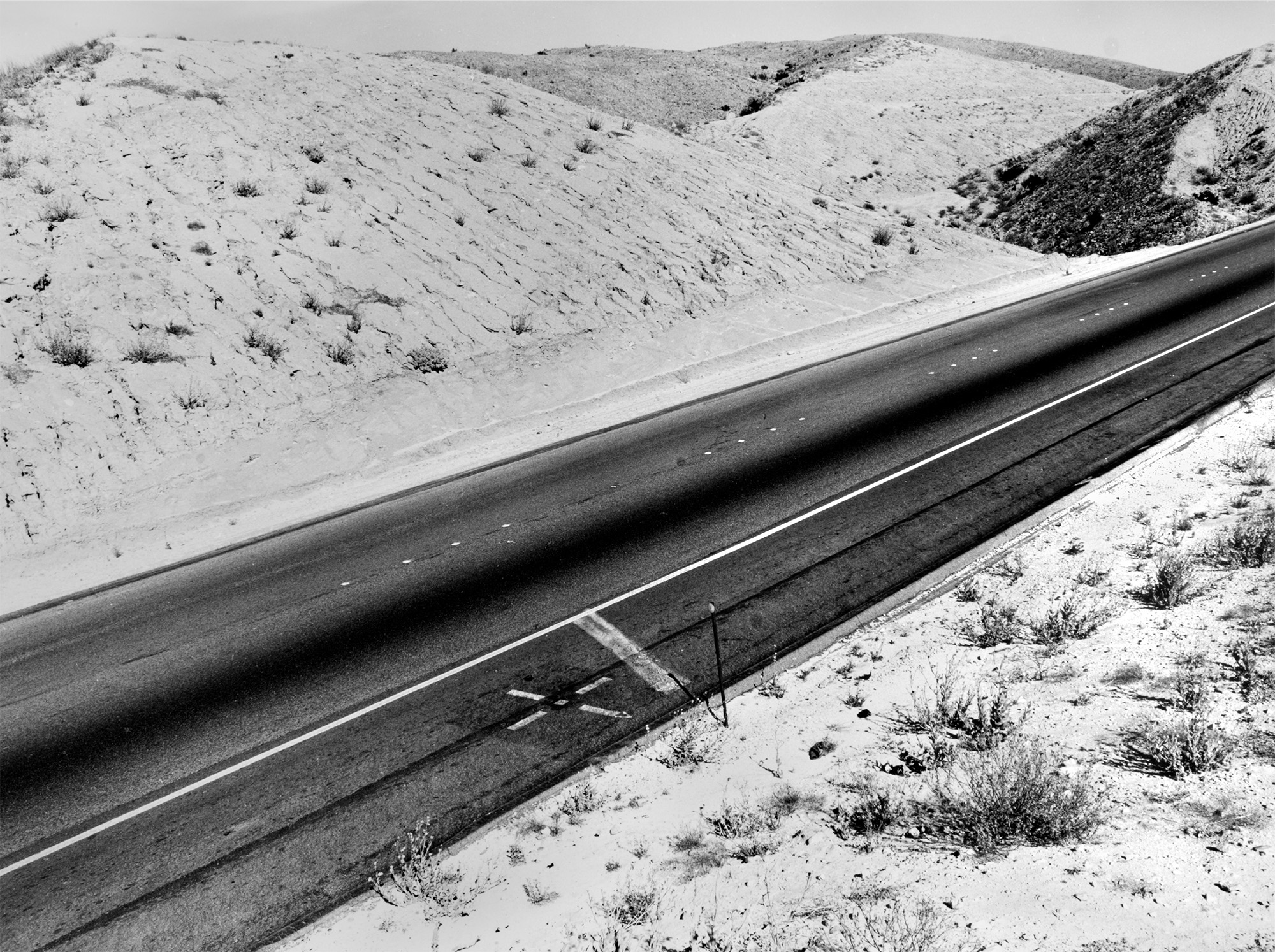 Interstate 14, California, USA, 1978