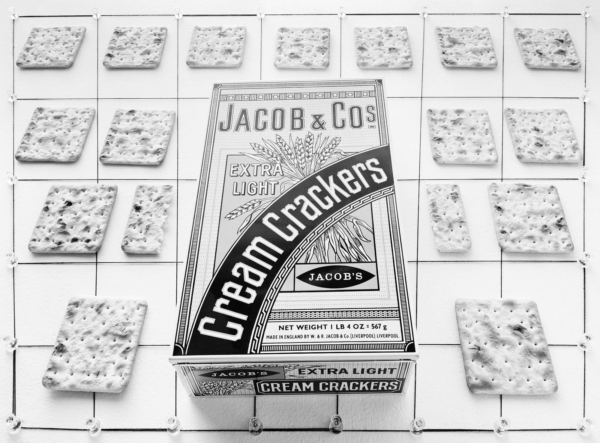 Jacob Cream Crackers, 1977