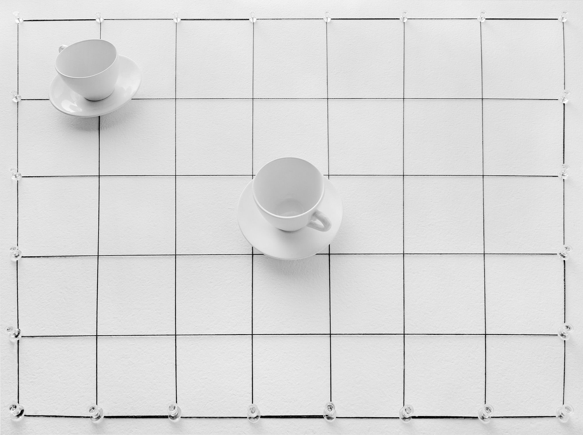 Cups and Saucers, 1977