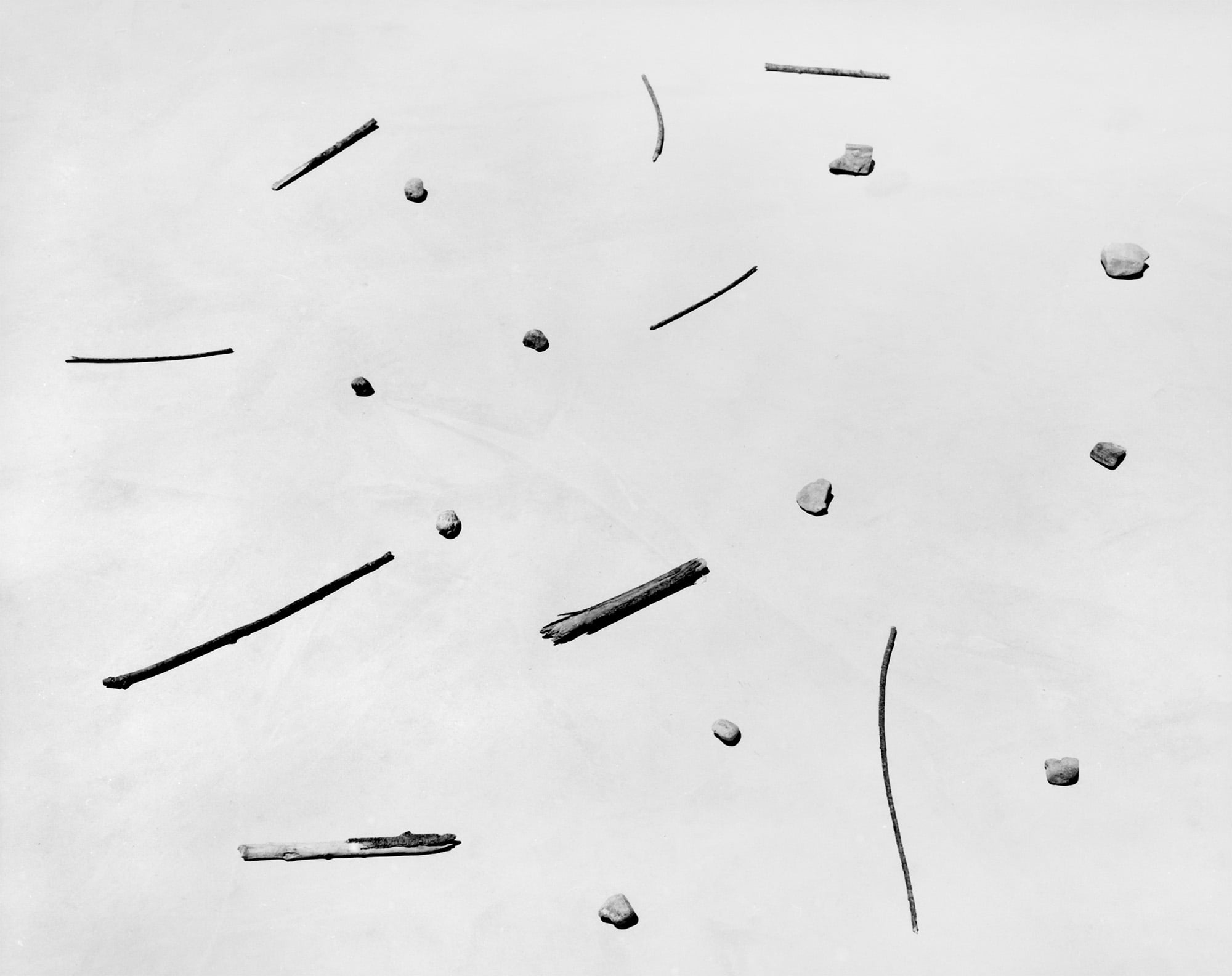 Sticks and Stones, Death Valley, California, USA, 1978