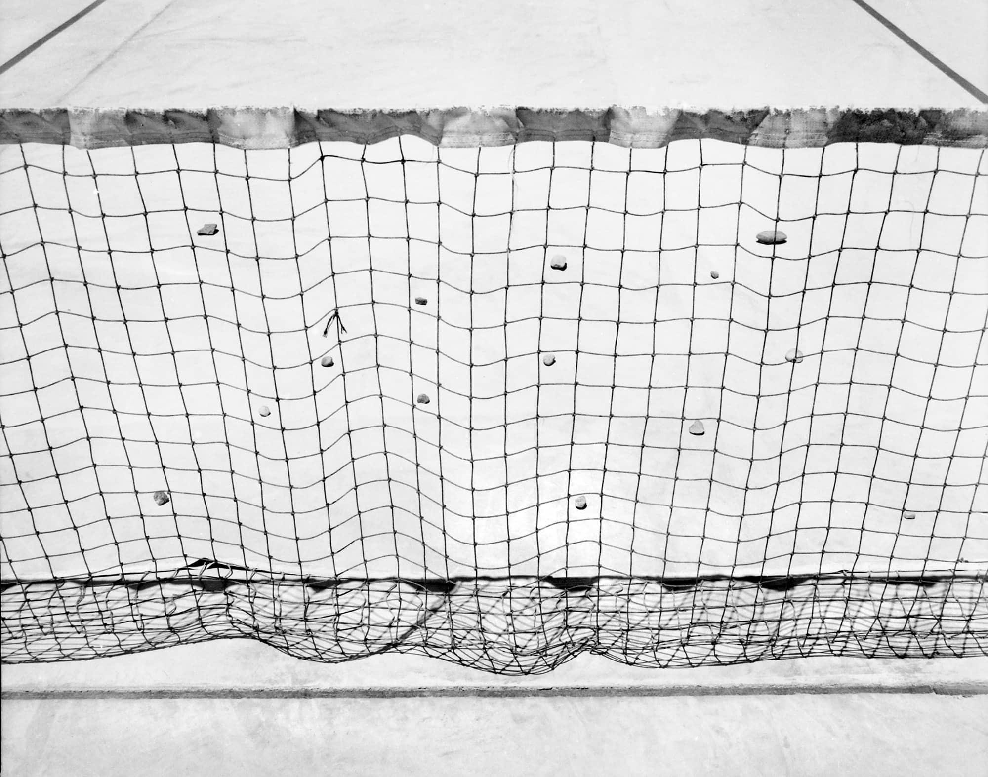 Tennis Court, Death Valley, California, USA, 1978